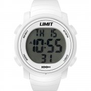 Limit Digital lcd dial chronograph resin strap Mens watch 6965