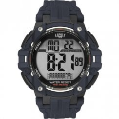 Limit Digital Stopwatch Blue Resin Strap Gents Watch 5705