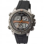 Limit Dual Display Digital Chronograph Black Strap Gents Watch 5694