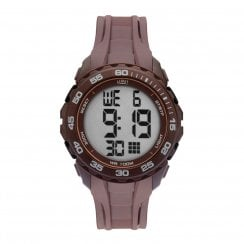 Limit Gents Brown Rubber Digital Sports Chronograph 5713