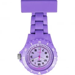 Limit Lilac Resin Strap Nurses Fob Watch 6112