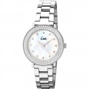 Limit Divine White Dial Stainless Steel Bracelet Ladies Watch 6115