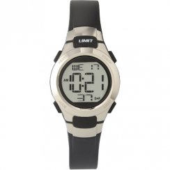 Limit Racing Digital Chronograph Black Resin Strap Kids Watch 6676