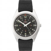 Limit Military Black Dial Black Nylon Strap Gents Watch 5974