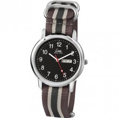 Limit Military Black Dial Nylon Strap Gents Watch 5470
