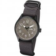 Limit Military Grey Dial Grey Nylon Strap Gents Watch 5494