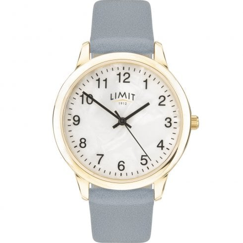 Limit Mother of Pearl Dial Light Blue Strap Ladies Watch 60009