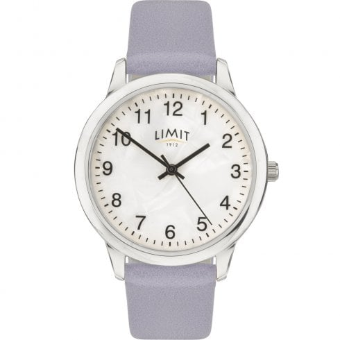 Limit Mother of Pearl Dial Lilac Strap Ladies Watch 60008
