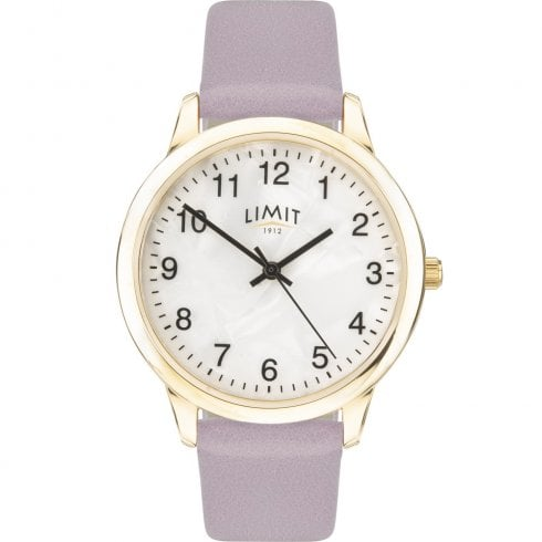 Limit Mother of Pearl Dial Pink Strap Ladies Watch 60007