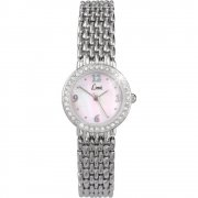 Limit Mother of pearl dial stainless steel bracelet Ladies watch 6746