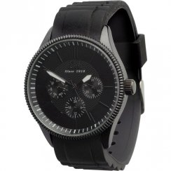 Limit Multifunction Black Dial Resin Strap Gents Watch 5439