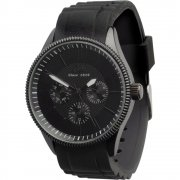 Limit Multifunction black dial resin strap Mens watch 5439