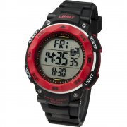 Limit Pro Xr lcd dial chronograph resin strap Mens watch 5486