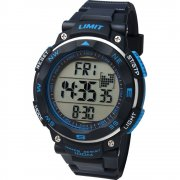 Limit Pro Xr lcd dial chronograph resin strap Mens watch 5487