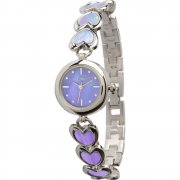 Limit Purple Dial stainless steel bracelet Ladies watch 6852