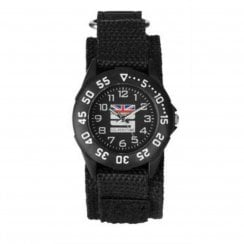 Limit Racer Boys Black Fabric Wristwatch Silverstone Edition 5005