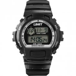 Limit Racing black dial chronograph resin strap Mens watch 6970