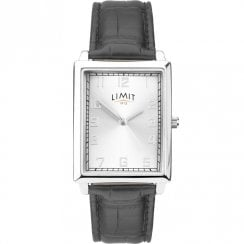 Limit Silver Dial Black Strap Gents Watch 5976