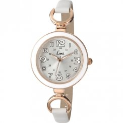 Limit  silver dial upper leather strap Ladies watch 6049