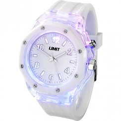 Limit Strobe white dial resin strap Mens watch 5444