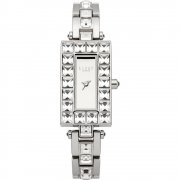 Lipsy Mirror Dial Chrome Bracelet Ladies Watch LP164