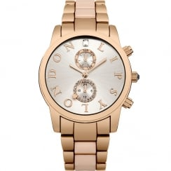 Lipsy Rose Gold Dial 2 Tone Bracelet Ladies Watch LP357