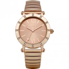 Lipsy Rose Gold Dial Expander Bracelet Ladies Watch LP100