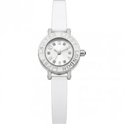 Lipsy  SILVER dial Polyurethane STRAP Ladies watch LP147