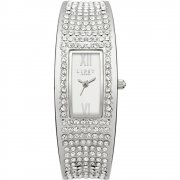 Lipsy Silver Dial Stone Set Bangle Ladies Watch LP119