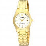 Lorus  champagne dial stainless steel bracelet Ladies watch RXT36EX9
