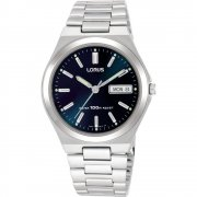Lorus Classic Blue Dial Stainless Steel Bracelet Gents Watch RXN17BX9
