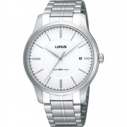 Lorus Classic Silver Dial Stainless Steel Bracelet Mens Watch RXH79JX9