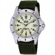 Lorus Military Lumibrite Dial Green Nylon Strap Gents Watch RXH005L9