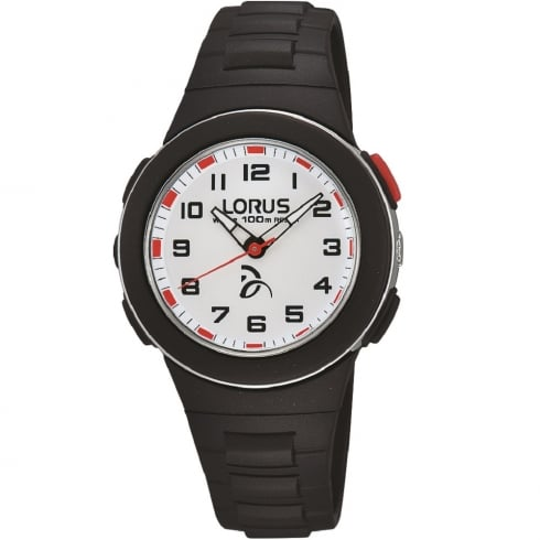 Lorus Novak Djokovic Foundation Black Strap Children Watch R2365KX9