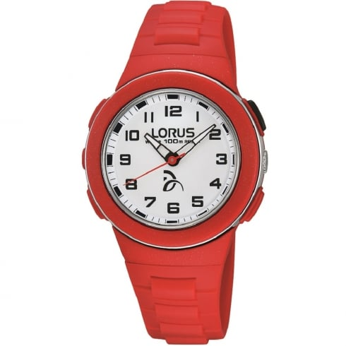 Lorus Novak Djokovic Foundation Red Strap Children Watch R2369KX9