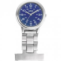 Lorus Nurses Fob blue dial stainless steel bracelet Ladies watch RG251DX9