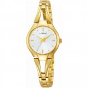 Lorus  white dial stainless steel bracelet Ladies watch RRS28UX9