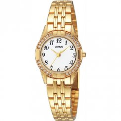 Lorus  white dial stainless steel bracelet Ladies watch RRS90TX9