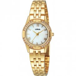 Lorus  white dial stainless steel bracelet Ladies watch RRS94TX9