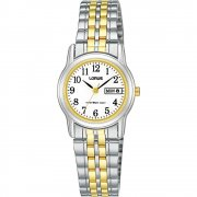 Lorus  white dial stainless steel bracelet Ladies watch RXU11AX9