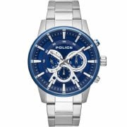 Police Avondale Blue Dial Stainless Steel Bracelet Gents Watch 15523JSTBL/03M