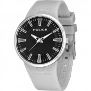 Police Dakar Black Dial Rubber Strap Mens Watch 14003JS-02A