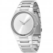 Police Horizon silver dial stainless steel bracelet Mens watch 12744JS-04M