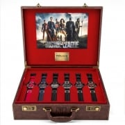 Police Justice League Heroes Box Gents Watch Gift Set 14536JS/ SET