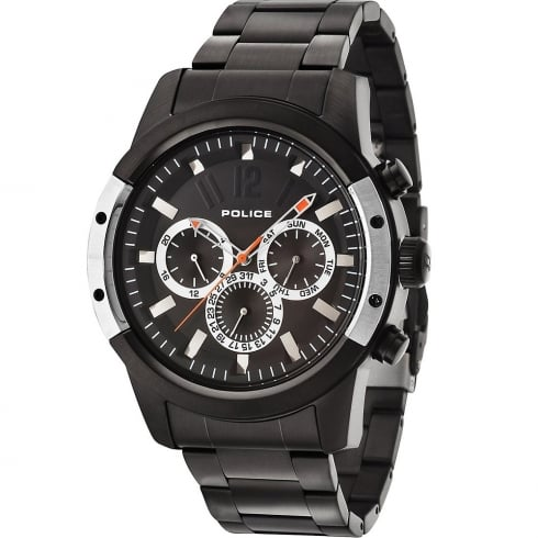 Police Scrambler IP Black Bracelet Gents Watch 14528JSBS/02M