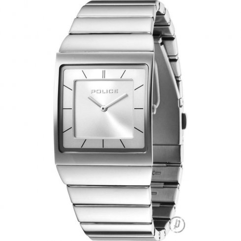 Police Skyline Silver Dial Stainless Steel Bracelet Gents Watch 12669MS-04M