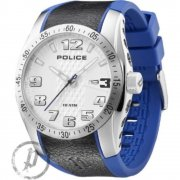 Police Topgear illumines dial rubber strap Mens watch 12557JS-04B