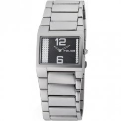 Police Vanity black dial stainless steel bracelet Ladies watch 12695LS-02M