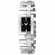 Pulsar  black dial stainless steel bracelet Ladies watch PEGA47
