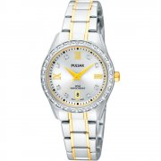 Pulsar  silver dial stainless steel bracelet Ladies watch PH7215